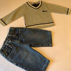 Boys Kenneth Cole reaction outfit